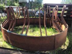 Round Bale Horse Feeder