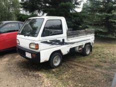 Honda 4 x 4 Pickup VIN HA4- 1015864 R/H Steer VIN HA4- 1015864 R/H Steer