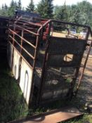 Pickup Mount Stock/Cattle Crate
