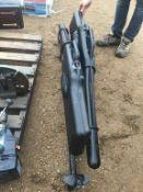 (2) Gun Case w/Mounting Brackets to fit 900 Ranger