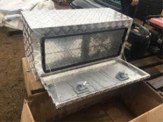 Unused Aluminum Jockey Box