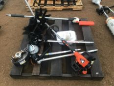 Echo Pas-2620 Powerhead w/Attachments Trimmer, Sweeper, Edger, Weed Eater & Tiller