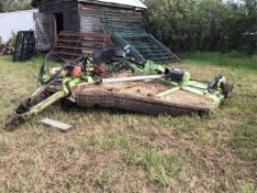 Schulte 15Ft Batwing Mower Drive Shaft to 1 Wing is Broke. Gear Box needs Repaired.