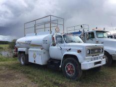 1988 Chevrolet 70 S/A Fuel Truck VIN 1GBL7D1B9JV111610 427 Gas Eng, 10spd Trans, 11R22.5 Tires, Spr
