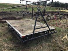 Skid Mounted Deck Drag w/Hitch