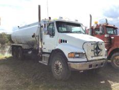 2005 Sterling Acterra T/A Water Truck VIN 2FZHCHDC95AU87033 C7 Cat Eng, 15spd Trans, A/R Susp, 11R2