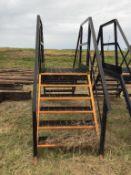 Steel Stair Catwalk
