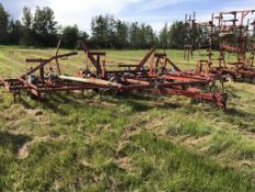 29Ft IH 4500 Vibrashank Cultivator Mounted Harrows, Rear Hitch, 6in spacing, 9in Sweeps