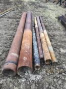 Lot of 6 Pipe