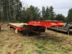 1979 Columbia 40-Ton T/A 40Ft Low Bed Trailer VIN ROL7498809 11R22.5 Tires, Spring Susp, 10Ft Wide