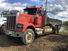 1985 Kenworth W900 T/A Water Truck VIN 2XKWD29X5FM914058 475 Cummins Eng, 13spd Trans, 11R24.5rr, 11