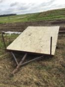 S/A Deck Trailer No VIN