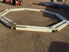 Double Skid Hopper Base for 16Ft Hopper