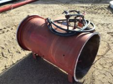 Aeration Fan/Heater Combo Lot # 171 & 172 Selling on Choice.
