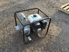 Honda 5.5hp 3in Water Pump Consignor has not used this Pump. No Guarantees.