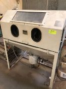 Cyclone Mfg. Co. Sandblasting Cabinet