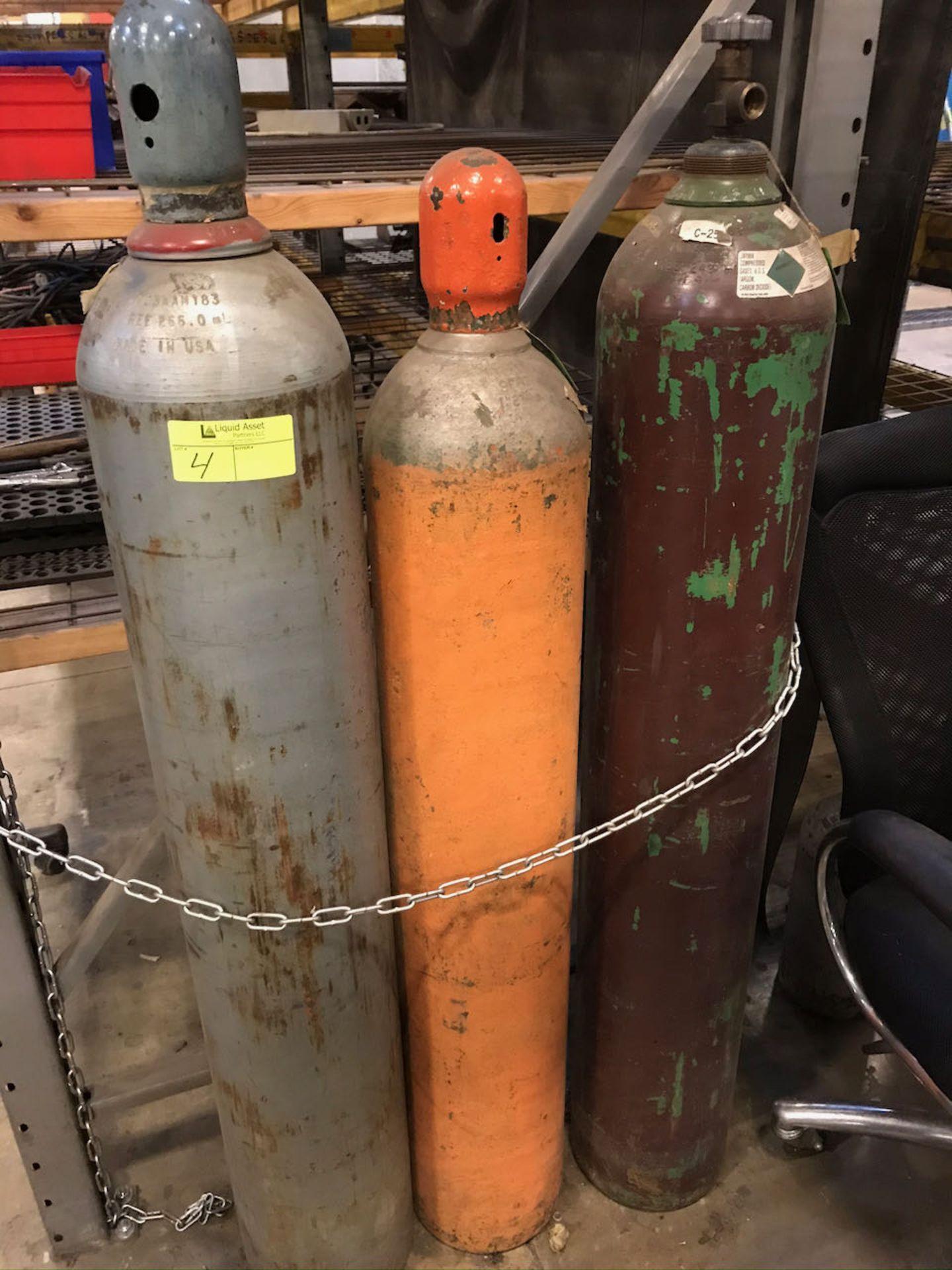 Set of torch tanks