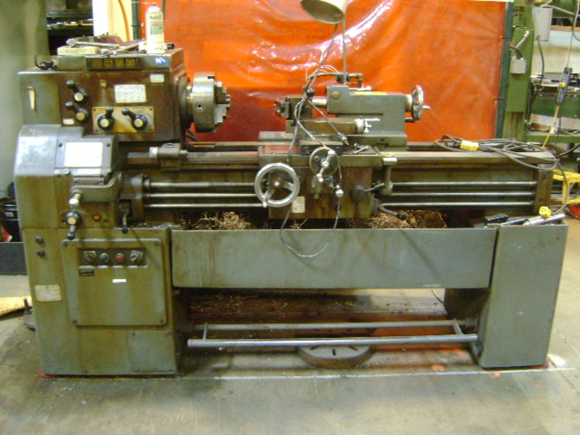Webb 15-3/4x40 Engine Lathe