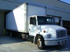 1992 Freightliner FL60 S/A Van Body Truck