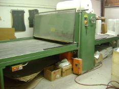 "1990 Corrugated Converting Equipment Inc. Flatbed Die Cutting Press DC80 80""W x 10'L (x 2-Sided = 2"