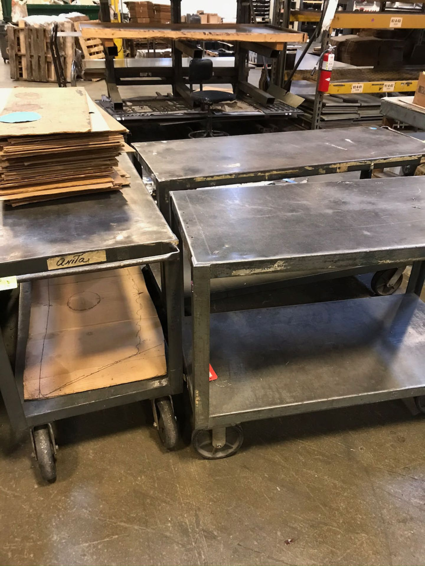 heavy duty rolling carts - Image 2 of 2