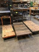 flatbed rolling carts