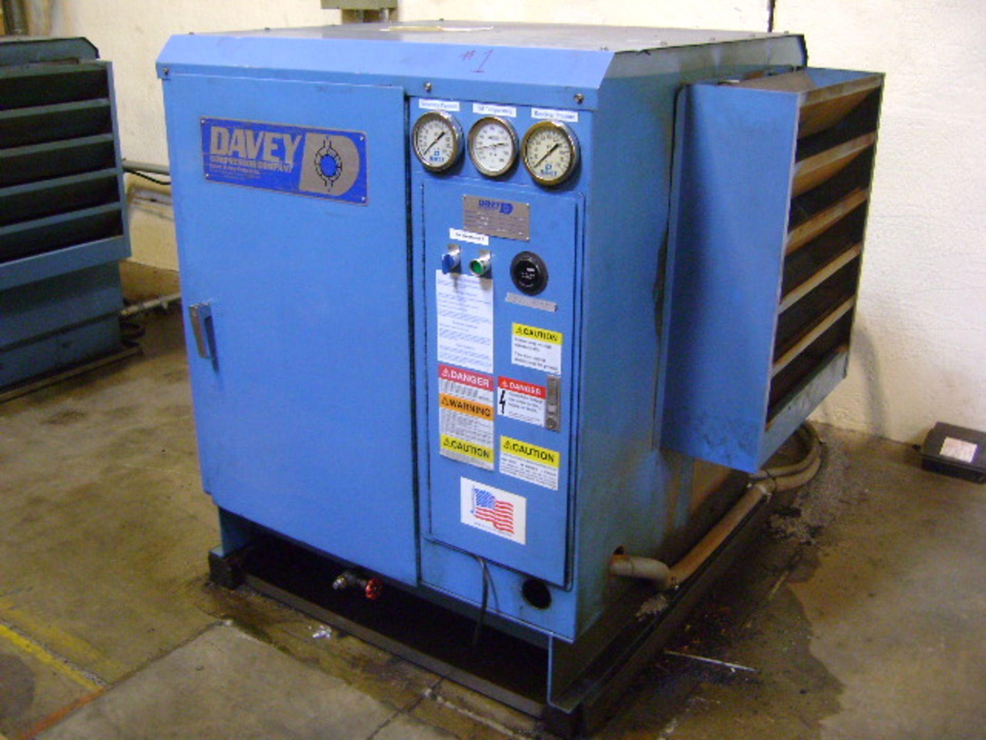Davey Rotary Screw Air Compressor