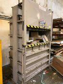 Max-Pak MP60 Vertical Cardboard Baler