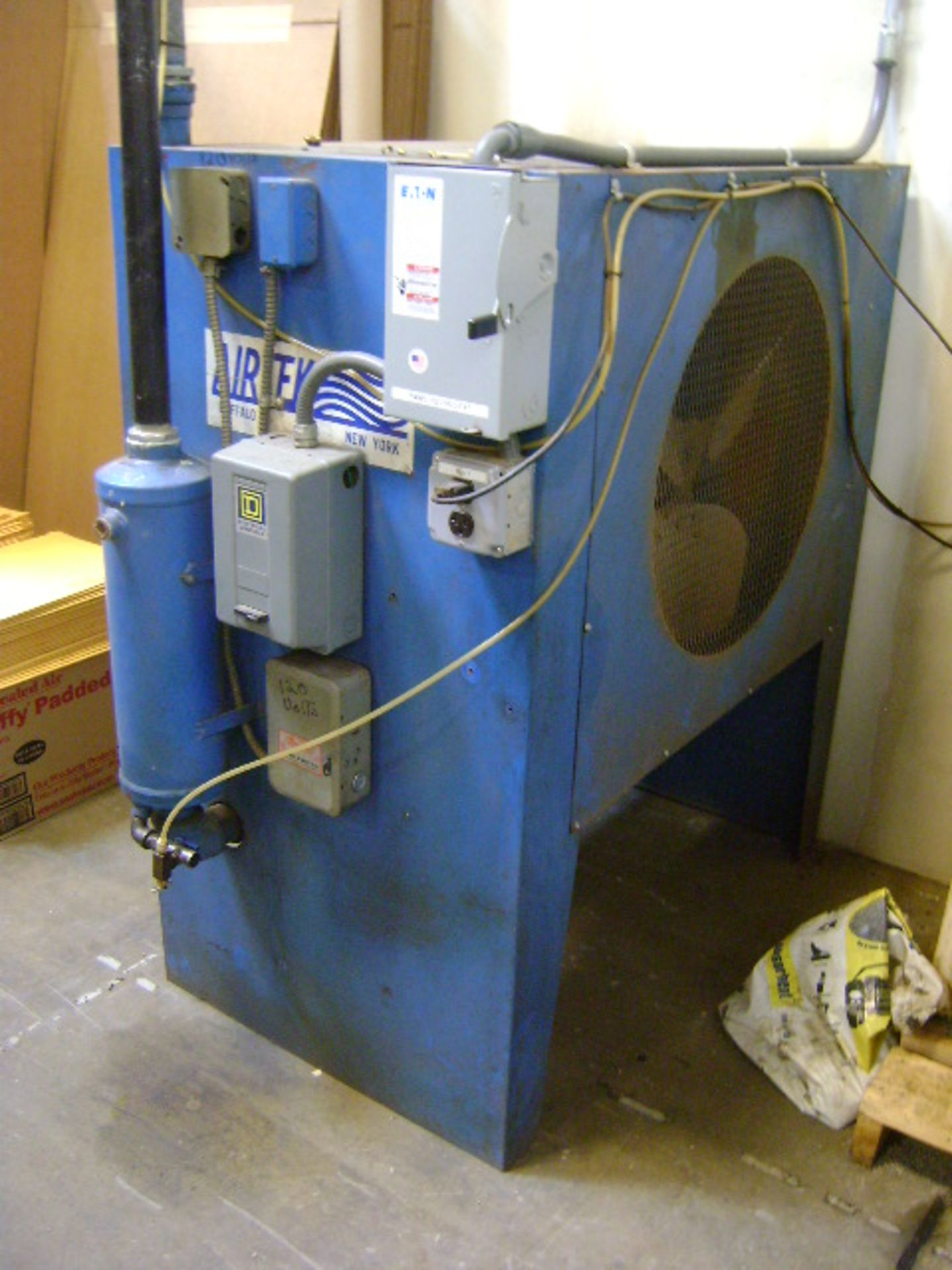 Davey Rotary Screw Air Compressor & Airtek Model 408Q Aftercooler - Image 2 of 2