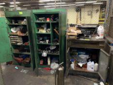 Desk w/ 2 cabinets