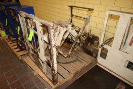 Cascade Hydraulic Slip Sheet & Push Forklift Attachment, Cat. No. 35E-PLS-250, S/N PTL954219-1, 3,