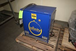 Infinity High Frequency Forklift Battery Charger, M/N PEI 18/8, S/N 2013070324, 480 Volts, 3