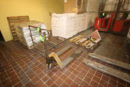 Lift-Rite 5,000 lb. Capacity Hydraulic Pallet Jack, with (1) Standard Hydraulic Pallet Pallet (NOTE: