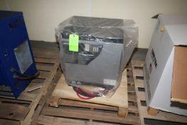 NEW AMETEK 12/24/36 Volt Battery Charger, M/N 1050EC3F-18SP, S/N 319CS86446, 480 Volts, 3 Phase (