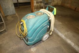 Tennant Walk-Behind Floor Scrubber, M/N 750, S/N TRC1500008257HEU, 120 Volts, with Hoses (LOCATED IN