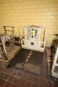 Cascade Hydraulic Slip Sheet & Push Forklift Attachment, Cat. No. 35E-3-0001, S/N 35E-B-169-