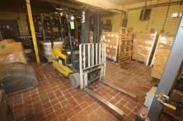 Yale 3,700 lbs. Sit-Down Electric Forklift, M/N ERP040THN36TE084, S/N F807N07420H, Battery Type
