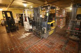 Yale 3,800 lbs. Sit-Down Electric Forklift, M/N ERC040VAN36TE084, S/N A969N02991M, with 3-Stage Mast