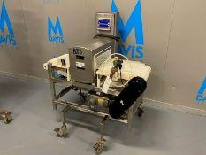 "Mettler Toledo SAFELINE S/S Metal Detector, M/N RV3, S/N 350Product Opening: Aprox. 15"" W x 5"" H x"