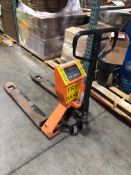 Hydraulic Pallet Jack, wit On Board Weigh System, with Digital Read Out
