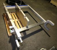 2008 Tetra Pak S/S Plate Press Frame, Model