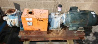 Viking 15 hp Corn Syrup Centrifugal Pump,