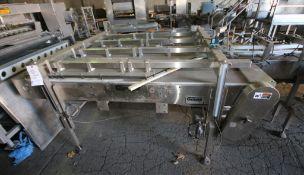"""Garvey 6 ft L x 48"""" W x 37"""" H S/S Conveyor"""