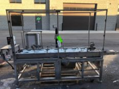 S/S Labeler Orientor Timing Conveyor, with Plastic Timing Belt, with Timing Belt