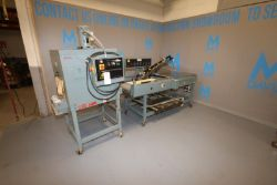 Shanklin Shrink Tunnel & L-Bar Sealer, Shrink Tunnel: M/N T6HCR, S/N T12090-01, 208 Volts, 1
