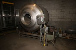 S/S Tumbler with 10 hp Hydraulic Drive, 1755 RPM,