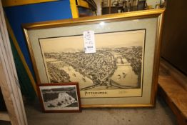 (2) Old Pittsburgh Photos, (1) 1902 PittsburghAerial & (1) Forbes Field (INV#78224)(Located @ the
