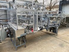 """Dyco Side Feed Debagging Table, M/N 2810, S/N 28-014-0493, with Aprox. 36"""" W Belt, Overall Dims."""