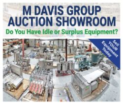 Food and Beverage Processing and Packaging Equip Auction at the MDG Showroom in Pittsburgh