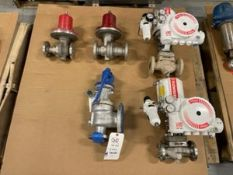 Lot of (5) Assorted Valves byFlowserve, Jordan, & Consolidated Flanged Type(INV#78100)(Located @ the